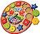 Relógio Pedagógico Palhacinho - Brinquedos educativos 3 anos - Imagem 1