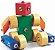 Brinquedos educativos 3 anos - robô - click formas 1 - Imagem 1