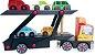 Brinquedo Educativo de Madeira - Caminhão Cegonha - Imagem 1