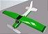 aviaozinho em depron que voa na cor verde - Imagem 3