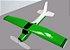 aeromodelo cessna 152 verde refletivo - Imagem 1