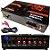 Amplificador de Mesa Receiver Turbo Dance 300W RMS para Microfone Guitarra Festas Dj Funk Rock Gospel - Imagem 1