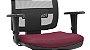 Cadeira Presidente BRIZZA Tela Ergonômica Base Alumínio com apoio de cabeça - Imagem 4