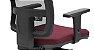 Cadeira Presidente BRIZZA Tela Ergonômica Base Alumínio com apoio de cabeça - Imagem 3