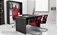 Cadeira BRIZZA Tela Aproximação Base cromada - Imagem 2