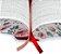 A Bíblia da Mulher - Capa Branca Borda Florida Almeida Revista e Corrigida - Imagem 2