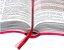 A BÍBLIA DA MULHER - Almeida Revista e Corrigida Pink Vinho e Laranja Flor - Imagem 2