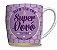 Caneca Porcelana Na Caixa - Presente Super Vovó - Imagem 1