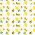 Fralda ecológica - Fauna e Flora - Branco - Abacaxi, Maracujá e Abacate - Imagem 3