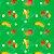 Fralda ecológica - Verde - Manga, Caju e Banana - Imagem 3