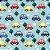 Fralda ecológica - Azul - Carrinhos - Imagem 3