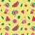 Fralda ecológica - Goiaba e melancia - Imagem 3