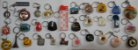 Chaveiro Lote 30 Chaveiros Antigos De Coleção Vários Modelos e Tipos K1 - Imagem 1