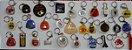 Chaveiro Lote 30 Chaveiros Antigos Coleção Vários Modelos K2 - Imagem 1
