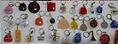 Chaveiro Lote 30 Chaveiros Antigos Coleção Vários Modelos K2 - Imagem 4