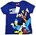 Camisetas Disney azul mickey and friends - Imagem 1