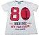 Camiseta Creme Juvenil - Imagem 1