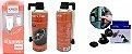 Kit acessorios motorista top (carregador com cabo kaidi iphone, suporte Lelong  e reparador de pneu) - Imagem 1