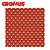 Saco de Presente CROMUS - Jour Vermelho/Dourado - Imagem 1
