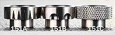 Drip Tip 810 metálico - Padrão baixo - Imagem 1