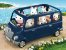 Mini Van Azul Sylvanian Families - Epoch - Imagem 5