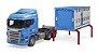 Caminhão Transportador De Animais Scania R-series - Bruder - Imagem 6