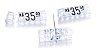 Kit de Preços (255 Peças) - Cristal com Preto - Imagem 1