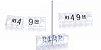 Kit de Preços para Jóias (340 Peças) - Cristal com Preto - Imagem 1