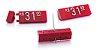 Kit de Preços (255 Peças) - Vermelho com Branco - Imagem 1