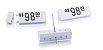 Kit de Preços (255 Peças) - Branco com Preto - Imagem 1