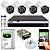 Kit CFTV Intelbras 04 Câmeras VHD 3130 B G4 e DVR de 04 Canais MHDX 3104 - Imagem 1