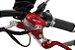 Moto Elétrica Scooter que parece Harley Davidson 1500W Vermelha - Imagem 2
