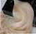 Cabelo loiro super claro Martha Hair nº 11, natural, liso, com coloração (kit com 25g) - Imagem 1