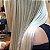 Cabelo loiro ultra claríssimo Martha Hair nº 12, mesclado, natural, liso, com coloração (kit com 25g) - Imagem 2