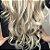 Cabelo loiro ultra claríssimo Martha Hair nº 12, mesclado, natural, ondulado, com coloração (kit com 25g) - Imagem 2