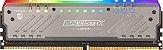 MEMÓRIA CRUCIAL BALLISTIX RGB 8GB 3000MHZ DDR4 CL15 - BLT8G4D30AET4K - Imagem 1