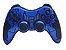 Controle Sem Fio Ps2-Ps3-Pc Bateria Recarregavel Azul - Imagem 1