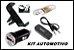 Kit Suporte Carregador Celular Para Carro  - Imagem 1