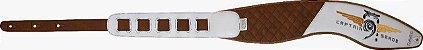Correias de Luxo Anatômicas Marca CABE - para contrabaixo - guitarra ou violão - Imagem 5