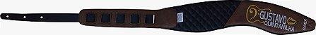 Correias de Luxo Anatômicas Marca CABE - para contrabaixo - guitarra ou violão - Imagem 21