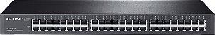 Switch Gigabit 48 portas Montável em Rack TP-LInk TL-SG1048 - Imagem 1