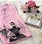 T-Shirt New York rosa bordada - Imagem 1