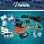 Kit Diamante Para Sublimação Prensa 8 em 1 + Impressora - Imagem 1