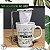 Kit Mini coador de pano + caneca de porcelana - Imagem 1