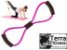 "Extensor elástico ""8"" leve- Terra Fitness - Imagem 1"