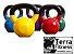 Kettlebell emborrachado 8kg- Terra Fitness - Imagem 1