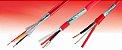 Cabo ALARMFIRE  2x1 mm² Cu CL2 PVC/EB 300V BC PVC ST1  NBR17240 vermelho - Imagem 1