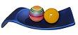 Centro de Mesa Azul Esferas Cerâmica Coloridas - Imagem 2
