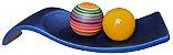 Centro de Mesa Azul Esferas Cerâmica Coloridas - Imagem 1