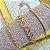 Pulseira Dourada em Elos  - Imagem 1